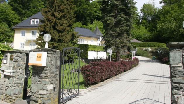 Einst wohnte die AvW-Familie in dieser Villa in Krumpendorf.