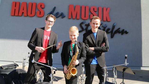 Three peaks vor dem Haus der Musik (Bild: Evelyn Hronek)