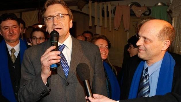 Karl Schnell und Andreas Schöppl - 2009 noch eine Einheit, heute heillos zerstritten