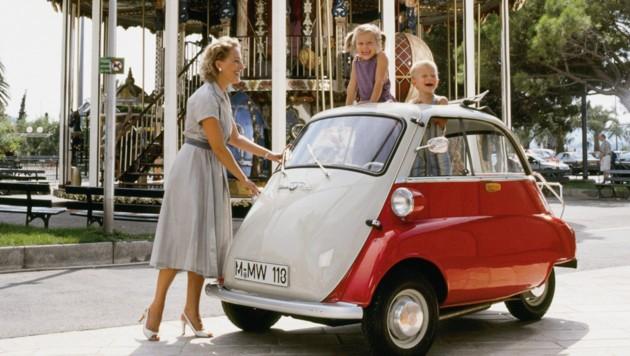 BMW Isetta ab 1955 (Bild: BMW)