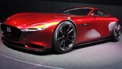 Die Studie Mazda RX Vision 2016 auf dem Genfer Autosalon (Bild: Stephan Schätzl)