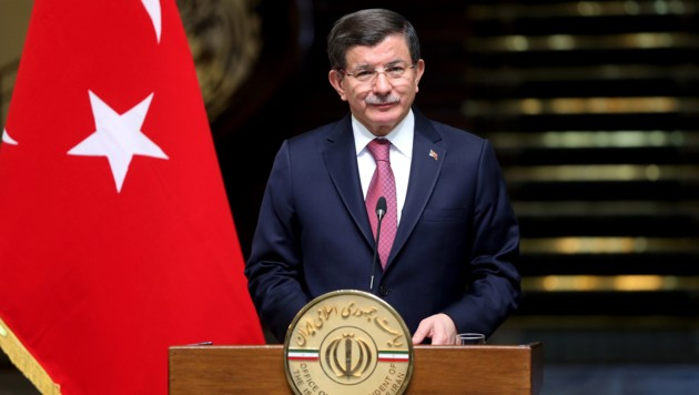 Ahmet Davutoglu (Bild: AP)