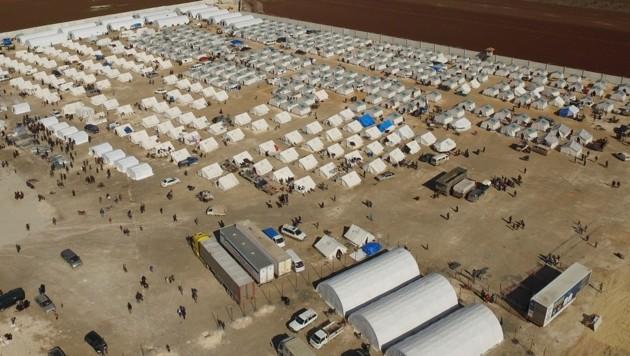 Flüchtlingslager im Norden Syriens