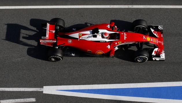 Kimi Räikkönen (Bild: AP)