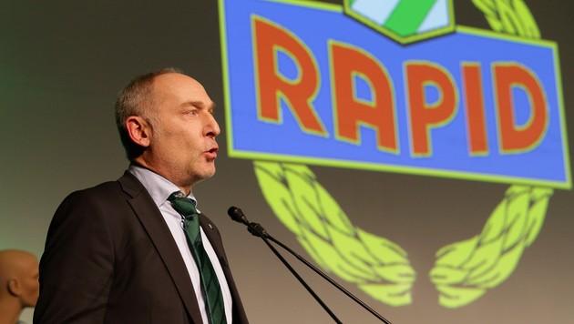 Rapid-Sportdirektor Andreas Müller