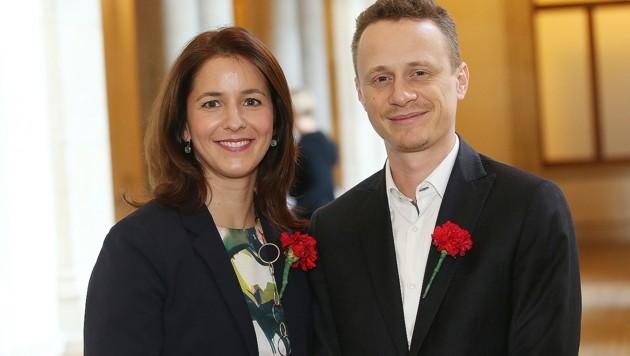 SPÖ-Gemeinderätin Katharina Schinner löst Parteikollegen Peko Baxant als SWV-Geschäftsführer ab. (Bild: Peter Tomschi)