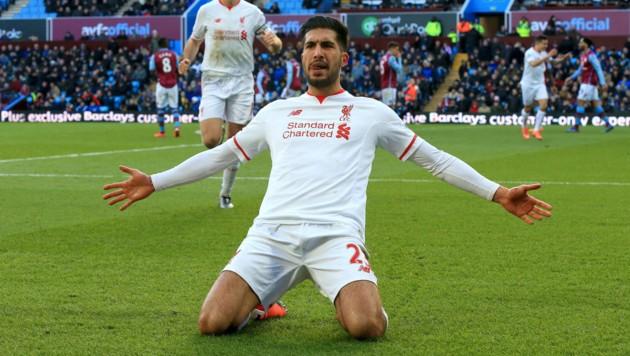 Liverpool-Torschütze Emre Can (Bild: AP)