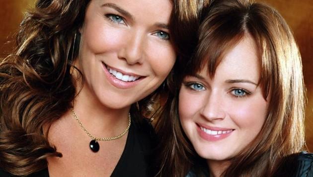 """Die """"Gilmore Girls"""" Lauren Graham und Alexis Bledel waren jahrelang auch der Hit im ORF. (Bild: EPA)"""