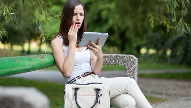 Wenn Sexting-Fotos an die Öffentlichkeit gelangen, folgt das böse Erwachen.