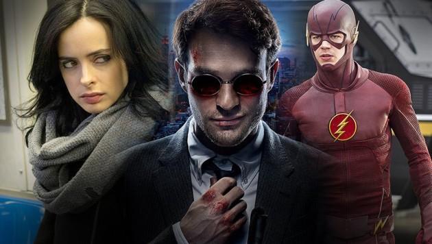 (Bild: Marvel.com, Netflix, The CW)