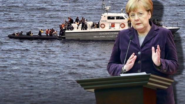 (Bild: APA/AFP/ARIS MESSINIS, APA/AFP/ADEM ALTAN)