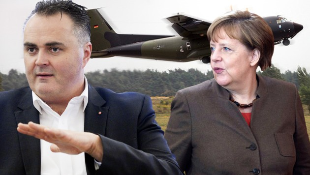 (Bild: Bundeswehr/Luftwaffe/Ingo Bicker, APA/AFP/, APA)