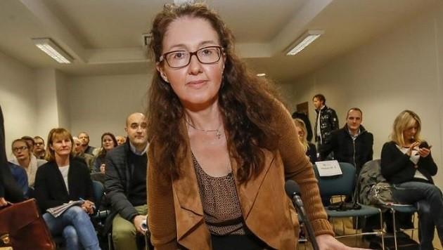 Die 18-monatige Bewährungsstrafe für die frühere Leiterin des Budgetreferats der Salzburger Landesfinanzabteilung, Monika Rathgeber, wird nicht angefochten. (Bild: Markus Tschepp)