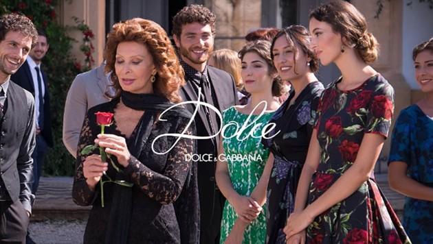 Mit 81 Jahren modelt Sophia Loren für Dolce & Gabbana. (Bild: instagram.com/dolcegabbana)