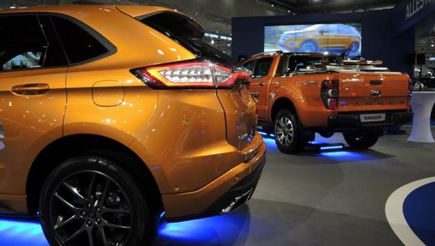 Ford Edge, Ford Ranger