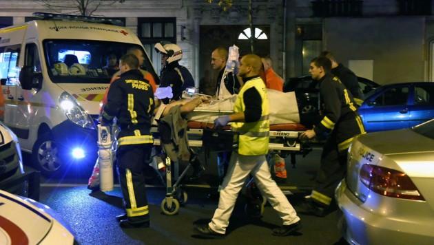Terror in Paris (Bild: APA/AFP/MIGUEL MEDINA)