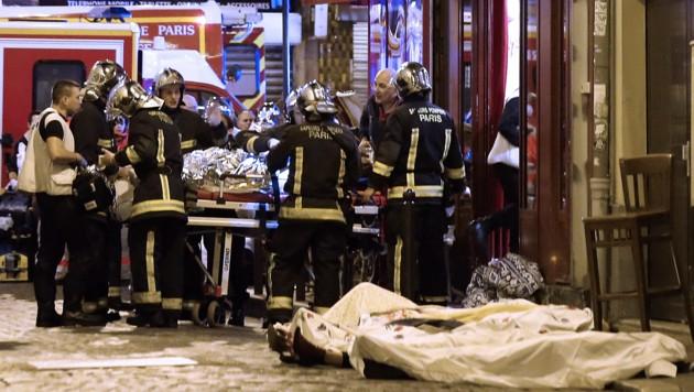 Terror in Paris (Bild: AP)