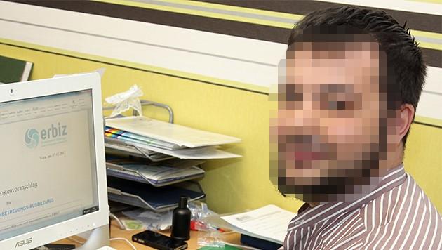 Abdullah P. (31) soll für Islam-Kindergärten fünf Millionen Euro kassiert haben. (Bild: fotodienst/Katharina Schiffl)