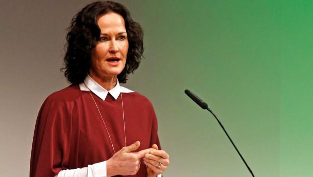 Ex-Grünen-Chefin Glawischnig (Bild: APA/GERT EGGENBERGER)