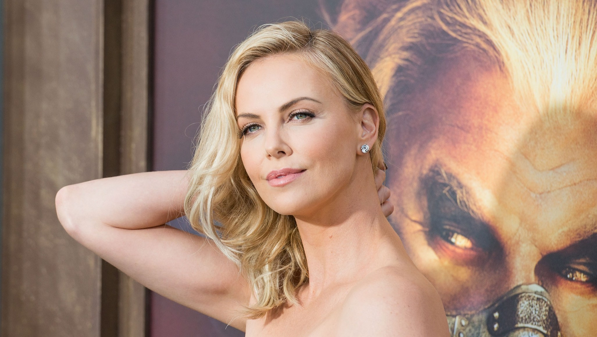 Theron charlize nackt