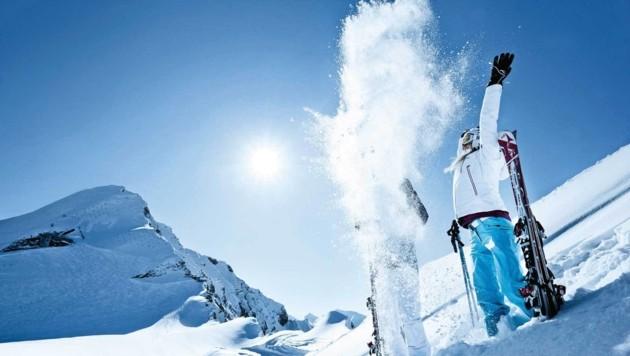 Das Skigebiet Zell am See-Kaprun gilt als schneesicher. (Bild: Andrea Thomas)
