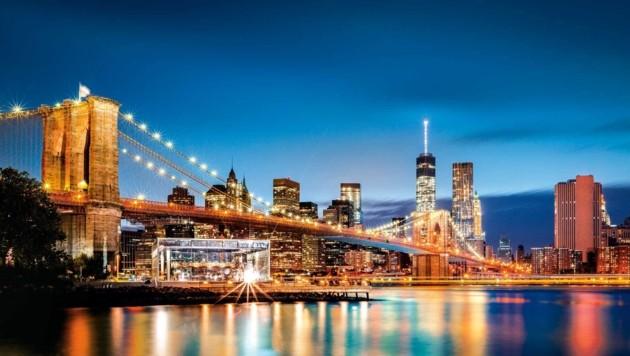 Die Brooklyn-Bridge, das Wahrzeichen von New York (Bild: Fotolia)