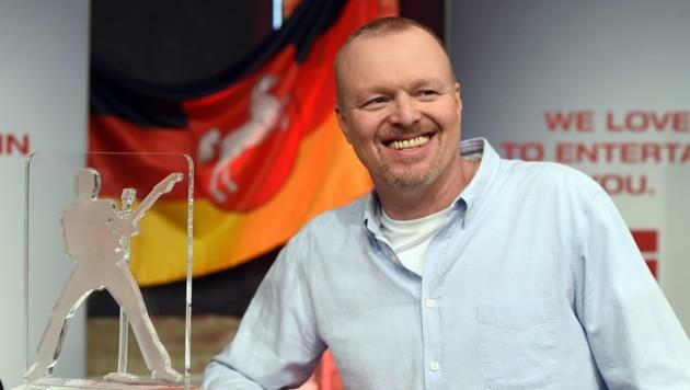 """Stefan Raab will seine """"Fernsehschuhe an den Nagel hängen"""". (Bild: APA/EPA/SWENPFOERTNER)"""