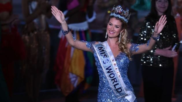 """Die 23-jährige Mireia Lalaguna Royo ist die neue """"Miss World"""". (Bild: AFP)"""