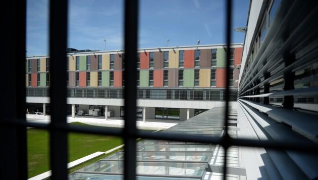 Die Justizanstalt in Puch bei Salzburg