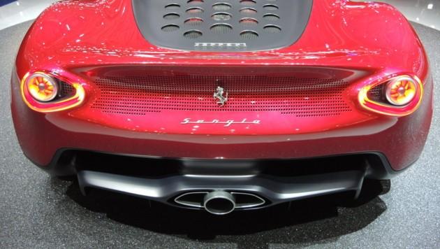 Die Hommage Pininfarina Sergio auf dem Genfer Autosalon 2013 (Bild: Stephan Schätzl)