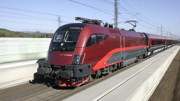 Mit einem Zug kollidierte der Pkw in Gleisdorf (Symbolbild). (Bild: ÖBB)