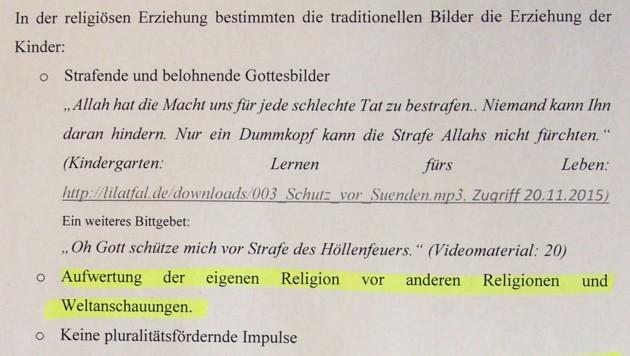 """Der Islam wird über andere Religionen gestellt. (Bild: """"Krone"""")"""