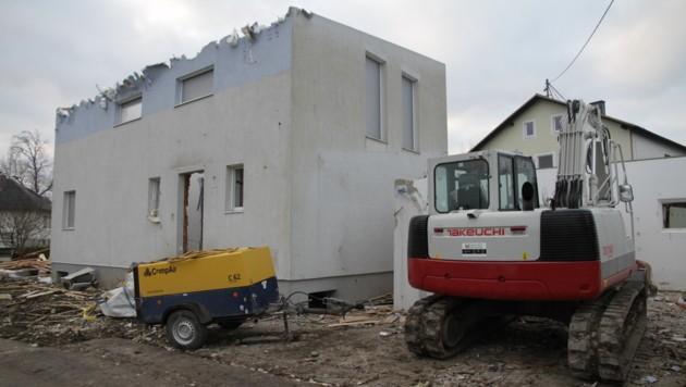In Hagenau in Goldwörth wird ein Haus nach dem anderen geschleift. (Bild: Markus Schütz)