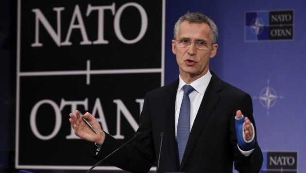 NATO-Generalsekretär Jens Stoltenberg (Bild: APA/AFP/JOHN THYS)