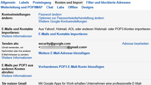 """Mit einem Absender wie """"security@google.com"""" könnten Phisher schnell an persönliche Daten gelangen. (Bild: Screenshot krone.at)"""