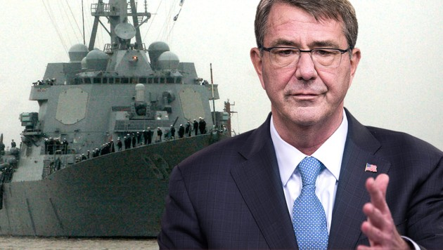US-Verteidigungsminister Ashton Carter warnt vor militärischen Konflikten im Pazifik. (Bild: APA/EPA/JIM LO SCALZO, AP)