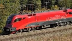 Der in der Steiermark Wohnhafte nahm den Railjet, der vergangenen Donnerstag um 14.58 Uhr am Wiener Hauptbahnhof abfuhr und um 17.33 Uhr in Graz ankam. (Bild: APA/ERICH NÄHRER/ÖBB)