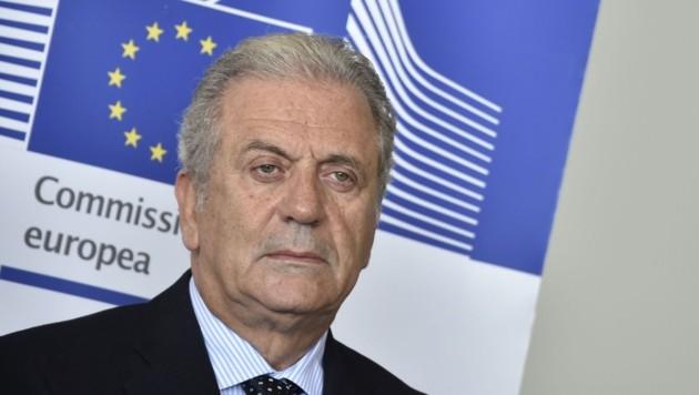 EU-Innenkommissar Dimitris Avramopoulos (Bild: AFP)