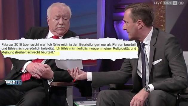 (Bild: ORF, Krone)