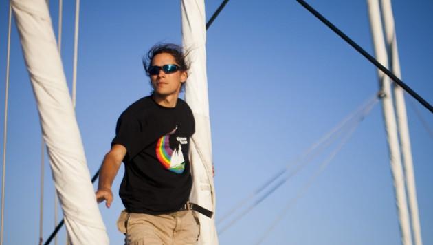 Am 18. Oktober startet Manuel Marinelli die erste große Expedition (Bild: Paul Hilton)