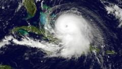 "Eine Satellitenaufnahme des Hurrikans ""Joaquin"" (Bild: APA/AFP/)"