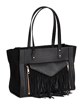 Auch Taschen lieben Fransen, hier ein Modell von H&M. (Bild: H&M)