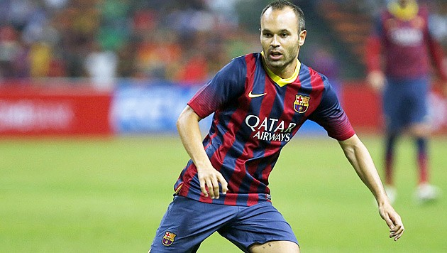 iniesta verl ngert bei barcelona lebenslang sport. Black Bedroom Furniture Sets. Home Design Ideas