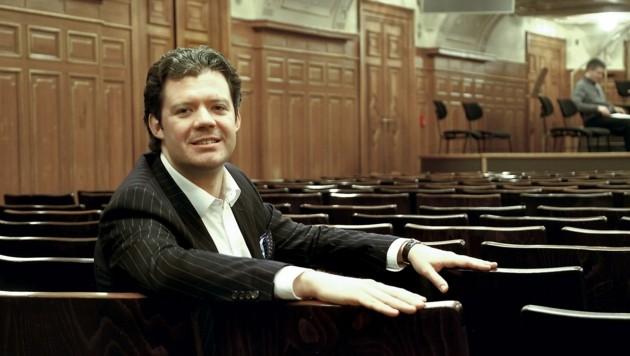 Michael Nemeth, Generalsekretär des Musikvereins für Steiermark (Bild: Musikverein Graz)