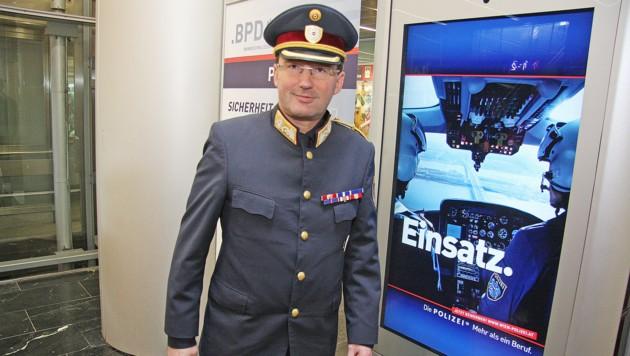Polizeipräsident Gerhard Pürstl (Bild: Martin A. Jöchl)