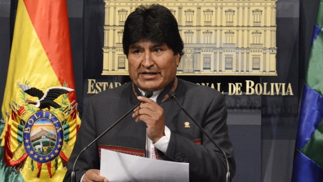 Evo Morales (Bild: APA/EPA)