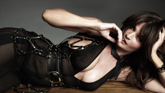 """So sexy zeigt sich Helena Christensen im neuen """"No Tofu""""-Magazin."""