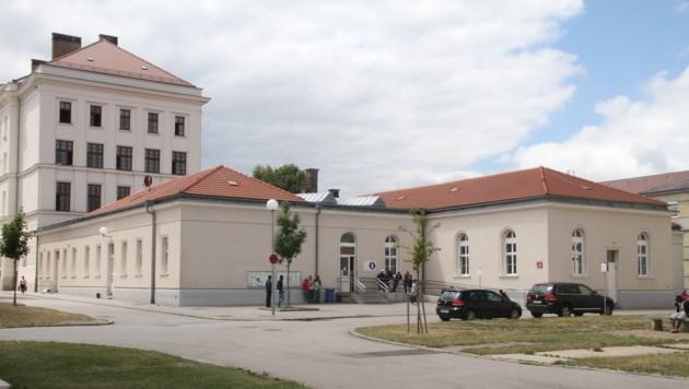 Die Erstaufnahmestelle Traiskirchen (Bild: Andi Schiel)