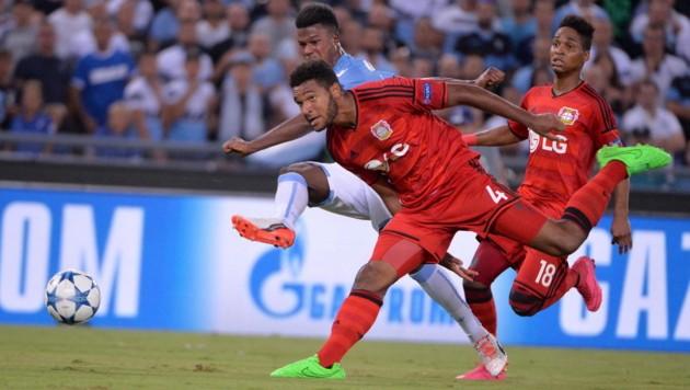 Keita trifft zum 1:0 für Lazio gegen Leverkusen (Bild: APA/EPA/MAURIZIO BRAMBATTI)