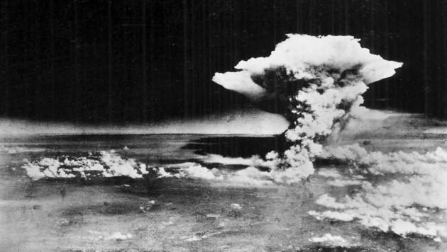Die Bombe auf Hiroshima